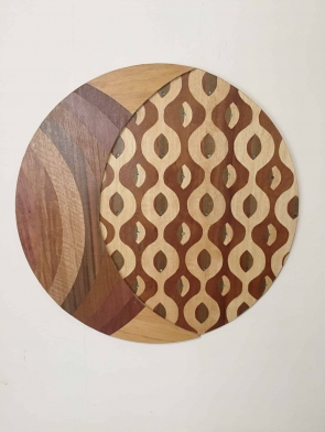 UNITY original wood wall art by Dagmar Maini Brisbane