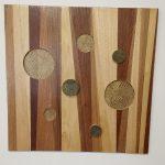 Originality wood wall art by Dagmar Maini Brisbane