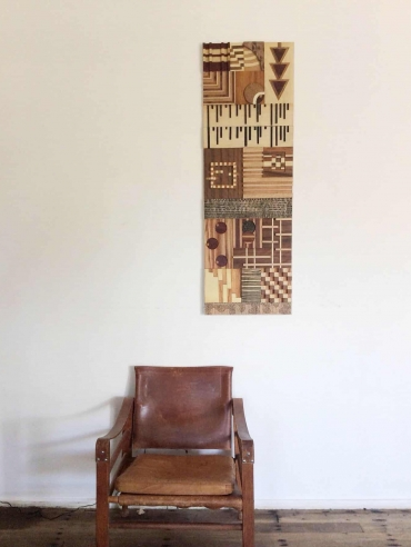 Dagmar Maini wood art wall hanging