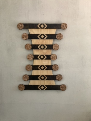 Dagmar  Maini wood wall art Brisbane Queensland
