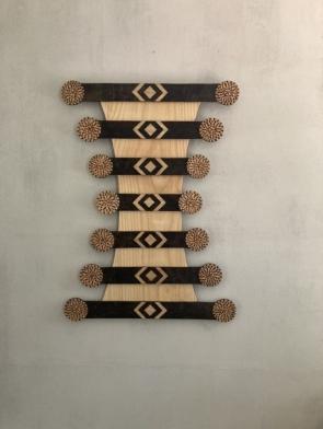 Dagmar  Maini wood wall art Brisbane Queensland